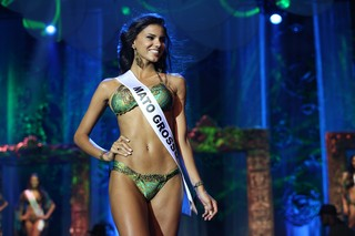 Miss Mato Grosso (Foto: Carol Gherardi/Band/Divulgação)