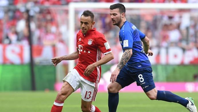 Rafinha Bayern x Darmstadt (Foto: AFP)