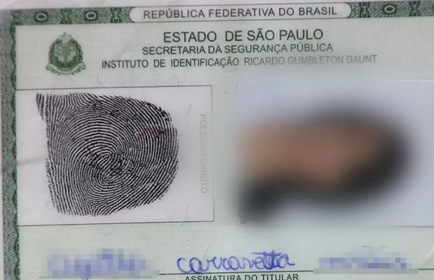 Menor apresentou documento falso e com rasura, diz Rotam (Foto: Reprodução/TV Anhanguera)