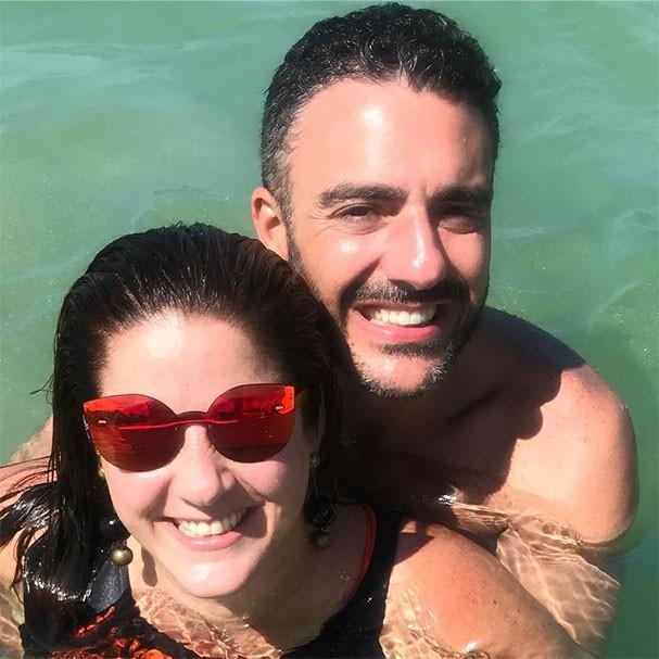 Christiane Pelajo e Fernando Sita em Porto de Galinhas (Foto: Reprodução/Instagram)