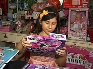 Brinquedos Dia das Crianças (Foto: Reprodução/TV TEM)