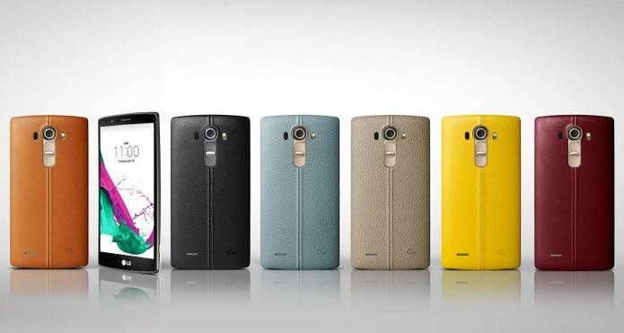 LG G4 se destaca principalmente pelo design e por sua supercâmera (Foto: Divulgação/LG)