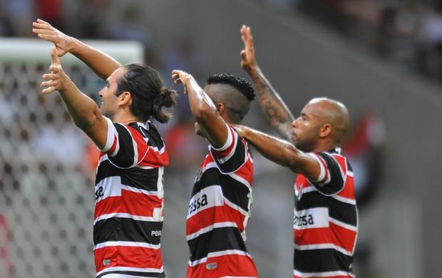Santa Cruz x Vila Nova (Foto: Aldo Carneiro / Pernambuco Press)