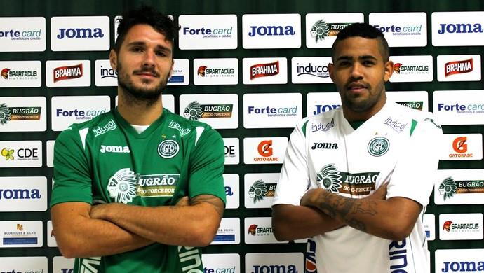 Dennis e Arthur atacantes Guarani (Foto: Sarah Bulhões / Guarani FC)