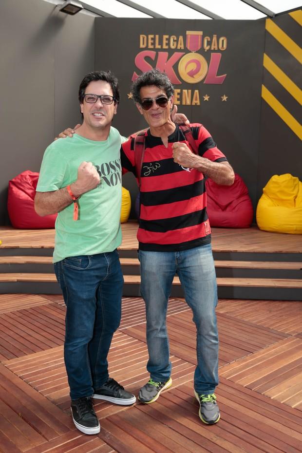 Du Moscovis e Lucio Mauro Filho (Foto: Felipe Panfili/Divulgação)