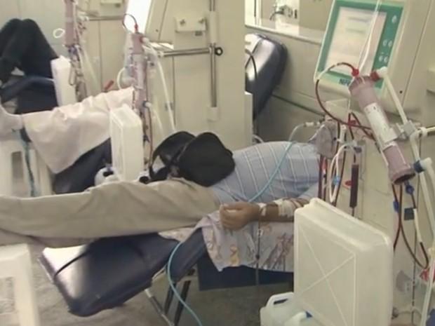 Pacientes têm pedido de hemodiálise negado em Campinas (Foto: Reprodução/ EPTV)