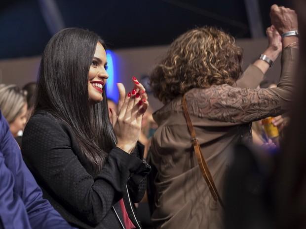 Letícia Lima em show de Ana Carolina em Vila Velha, no Espírito Santo (Foto: Harry Corbellari/ Flash Glamour/ Divulgação)