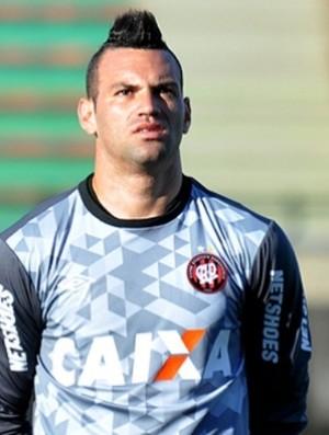 Goleiro Weverton, do Atlético-PR (Foto: Divulgação/Site oficial do Atlético-PR)