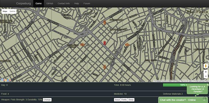 Hack transforma seu bairro em RPG zumbi (Foto: Reprodução/Paulo Alves)