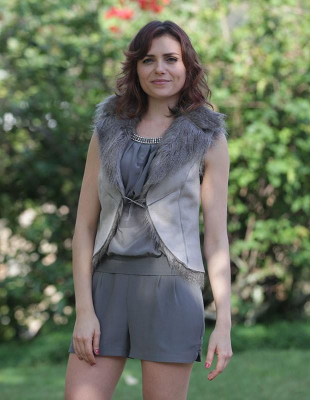 Monica Iozzi estreia como atriz em Alto Astral (Foto: Pedro Curi/Gshow)