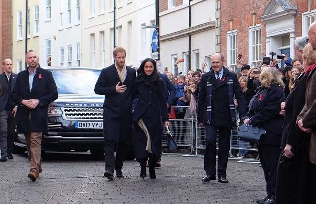 Príncipe Harry e Meghan Markle (Foto: Reprodução/Twitter)