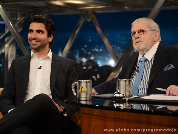 Eduardo Borges participa do Programa do Jô desta sexta-feira (Foto: TV Globo/Programa do Jô)