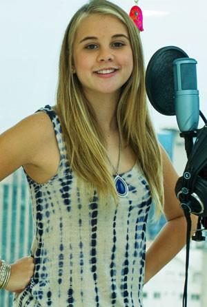 Nonô nasceu no Rio e mora em SP; ela canta desde os 6 anos (Foto: Flavio Moraes/ G1)
