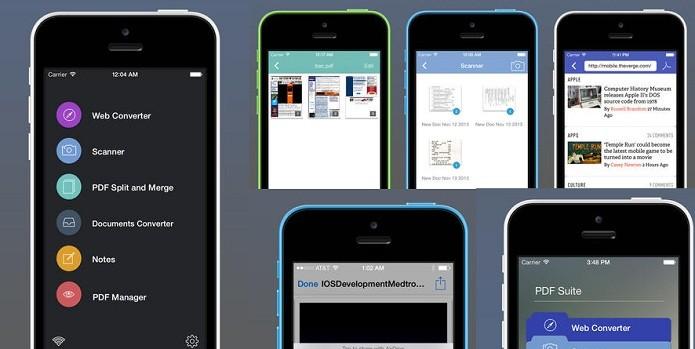 PDF Suite é uma ferramenta completa para lidar com arquivos PDF no seu gadget (Foto: Divulgação/App Store)