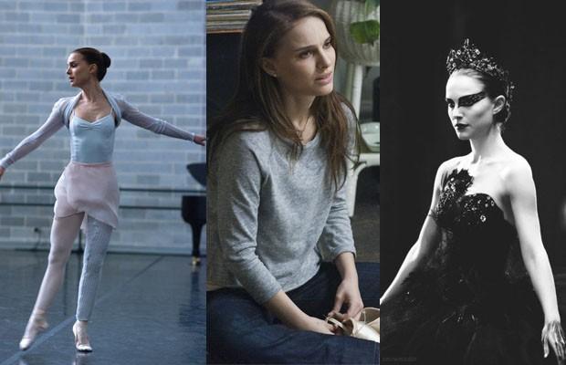 Evolução da paleta de cor no figurino de Nina, interpretada por Natalie Portman (vencedora do Oscar pelo papel) em Cisne Negro (2011) de Darren Aronofsky, com costume design assinado por Amy Westcott  (Foto: Reprodução)