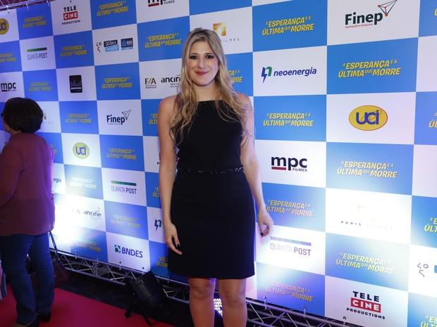 Dani Calabresa em pré-estreia de filme no Rio (Foto: Felipe Assumpção/ Ag. News)
