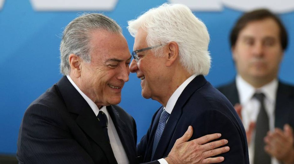 Michel Temer e Moreira Franco (Foto: Agência Brasil)