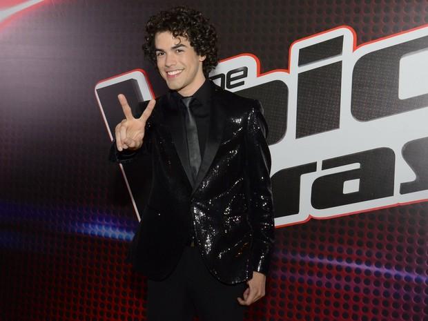 Sam Alves, vencedor da segunda edição do 'The Voice Brasil',  (Foto: Roberto Teixeira/ EGO)