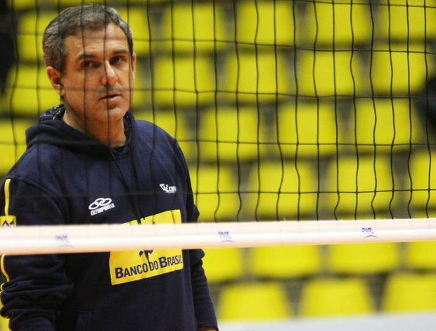 José Roberto Guimarães seleção vôlei (Foto: Alexandre Arruda/CBV)
