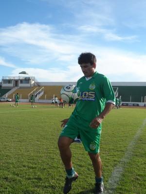 Lourival jogador do Gurupi (Foto: Josy Rodrigues/Jornal do Tocantins)
