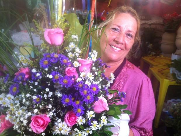 dia das maes cabo frio floricultura (Foto: Heitor Moreira/G1)