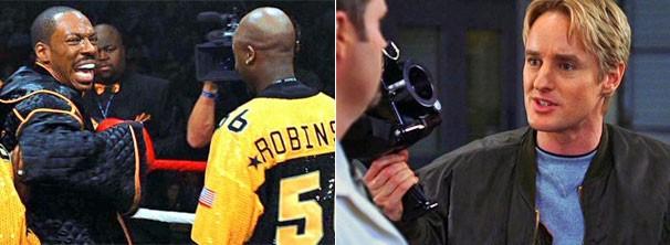 O boxeador arrogante Kelly (Eddie Murphy) se une a Alex Scott (Owen Wilson) em missão do governo (Foto: Divulgação / Reprodução)