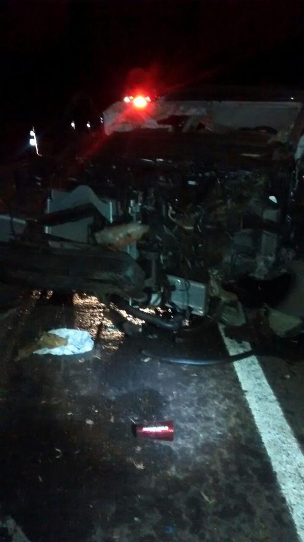 Acidente Cristiano Araújo (Foto: Polícia Rodoviaria Federal)