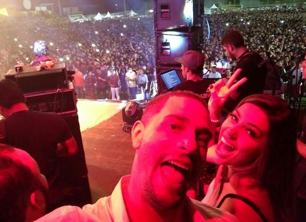 Daniel Fontes e Vivian Amorim  (Foto: Divulgação)