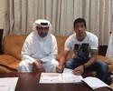 Novo jogador do Al Rayyan, Cáceres rescinde com o Fla e viaja ao Catar