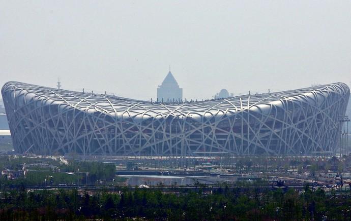 Ninho do Pássaro estádio em Pequim China (Foto: Getty Images)