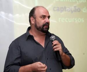 Marcelo Estraviz, empreendedor do terceiro setor e fundador da Associação Brasileira de Captadores de Recursos (ABCR) , é um dos organizadores do Dia de Doar no Brasil (Foto: Mauro Frasson)