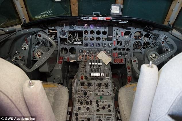 Avião ainda conta com peças originas escolhidas pelo próprio Elvis (Foto: Divulgação)