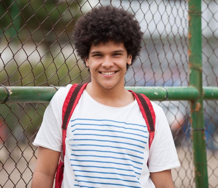 Paulo Hebrom vive BB em 'Malhação' (Foto: Fabiano Battaglin/Gshow)