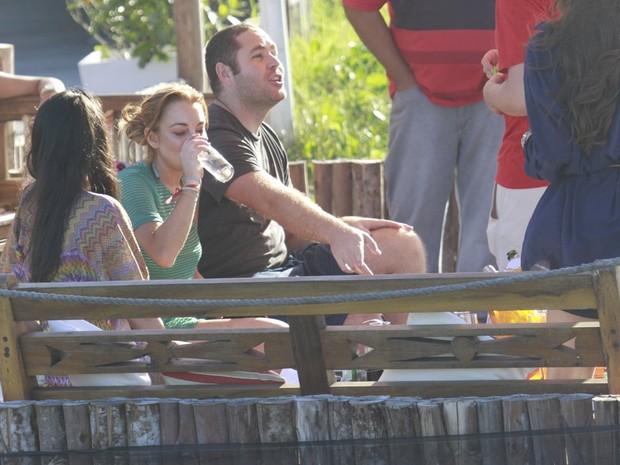 Lindsay Lohan (Foto: Dilson Silva  / Agnews)