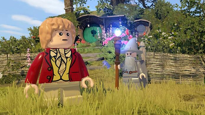 Bilbo Bolseiro vivia uma vida tranquila no Condado até ser convocado para uma aventura (Foto: eurogamer.net)