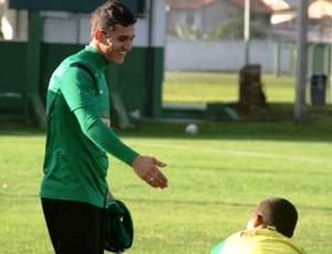 Vinícius Coritiba (Foto: Gabriel Hamilko/Globoesporte.com)