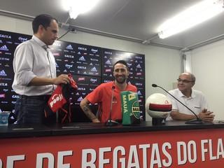 Rodrigo Caetano Eduardo Bandeira de Mello Donatti Flamengo (Foto: Raphael Zarko)
