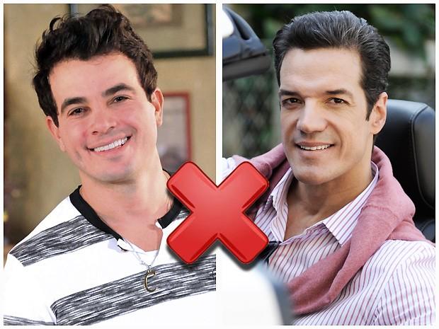 Com quem Valdirene deve ficar: Carlito ou Ignácio? PARTICIPE! (Foto: Amor à Vida / TV Globo)