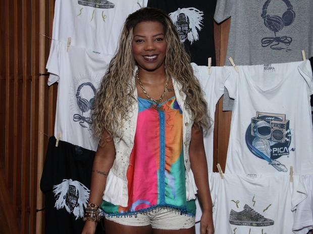 Mc Ludmilla em festa na Zona Sul do Rio (Foto: Thyago Andrade/ Foto Rio News)