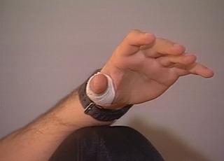 dedo murilo grêmio libertadores 1995 (Foto: Reprodução/RBS TV)