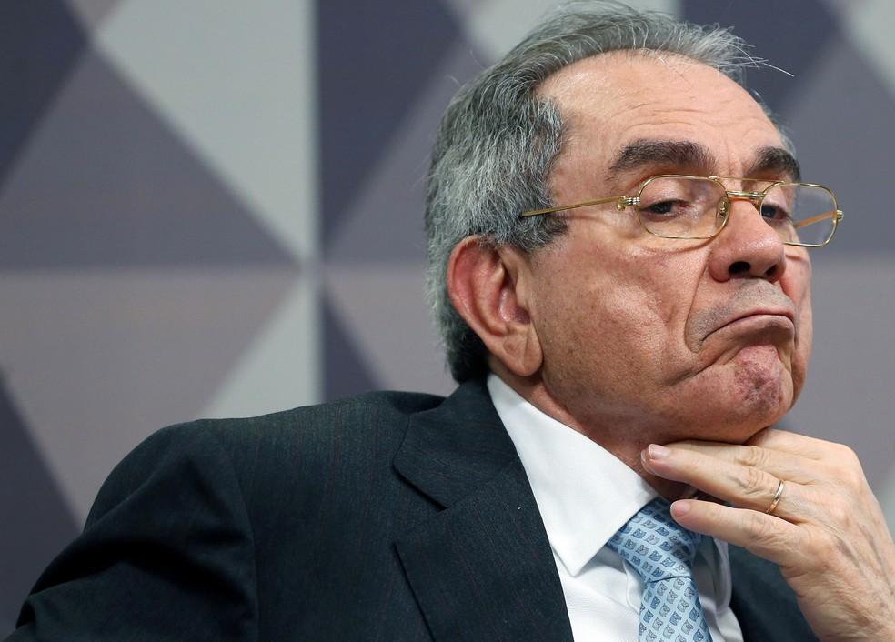 O senador Raimundo Lira (PMDB-PB) (Foto: Adriano Machado/Reuters)