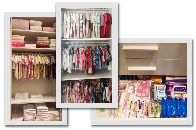 Detalhes do closet Maria Flor, que guarda com carinho todos os presentes enviados por fãs de Deborah (Foto: Divulgação)