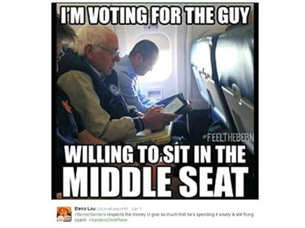 Bernie Sanders (Foto: BBC/Twitter)