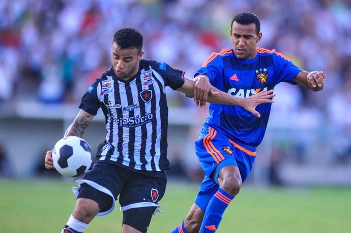 Botafogo-PB x Sport (Foto: Aldo Carneiro (Pernambuco/Press))