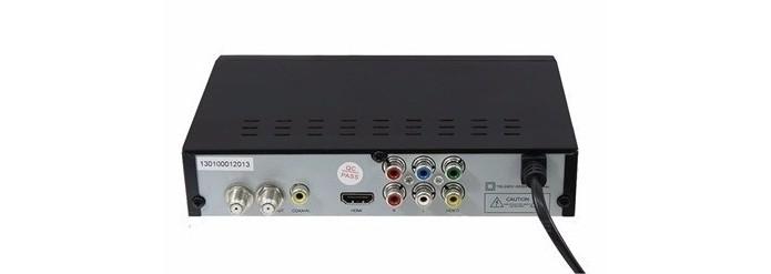 Traseira de conversor digital para TV de tubo (Foto: Divulgação/Super Digi)