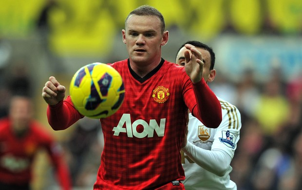 rooney manchester united x swansea (Foto: AFP)