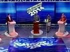 Eunício Oliveira e Camilo Santana trocam acusações em debate na TV