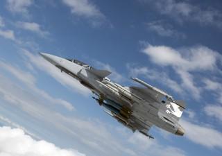 Gripen, o novo caça do Brasil, só chega em 2019 (Foto: Saab/divulgação)