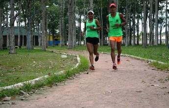 Casal treina junto para tentar subir nos pódios em corridas fora de Rondônia