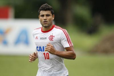 Ederson Flamengo treino Ninho do Urubu (Foto: Gilvan de Souza / Flamengo)